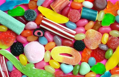 連絡がくる色とりどりのキャンディー待ち受け画像